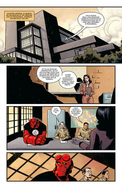 Page 8 Hellboy & B.P.R.D. tome 5