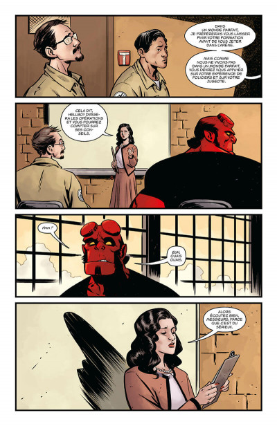 Page 9 Hellboy & B.P.R.D. tome 5