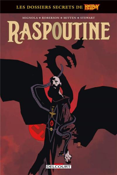 Couverture Hellboy - dossiers secrets - Raspoutine
