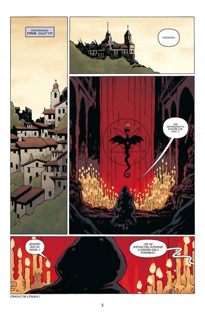 Page 5 Hellboy - dossiers secrets - Raspoutine