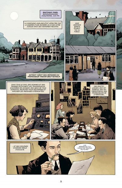 Page 9 Hellboy - dossiers secrets - Raspoutine