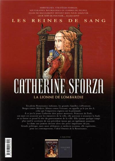 Dos Les reines de sang - Catherine Sforza, la lionne de Lombardie tome 1