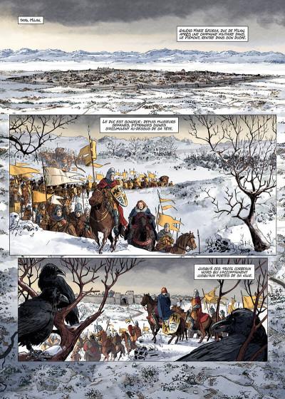 Page 3 Les reines de sang - Catherine Sforza, la lionne de Lombardie tome 1