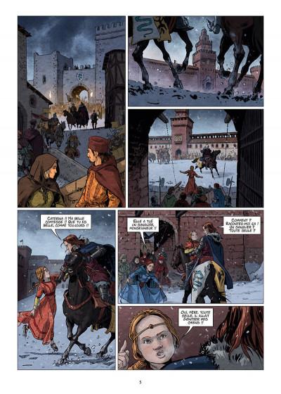 Page 5 Les reines de sang - Catherine Sforza, la lionne de Lombardie tome 1