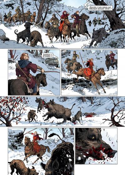 Page 6 Les reines de sang - Catherine Sforza, la lionne de Lombardie tome 1