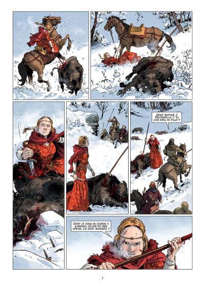 Page 7 Les reines de sang - Catherine Sforza, la lionne de Lombardie tome 1