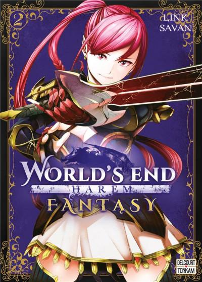 Couverture World's end harem fantasy tome 2