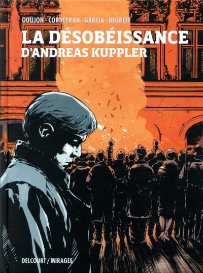 Couverture La désobéissance d'Andreas Kuppler
