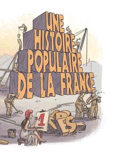 Page 3 Une histoire populaire de la France tome 1