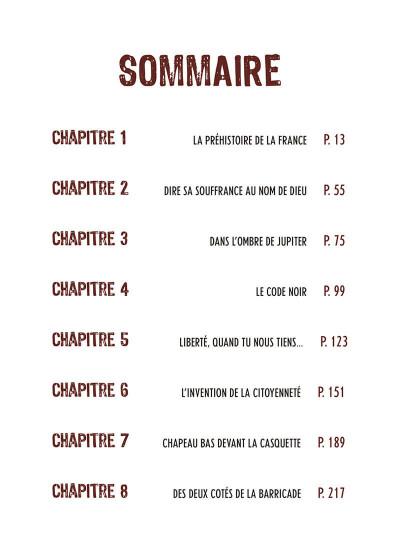 Page 5 Une histoire populaire de la France tome 1
