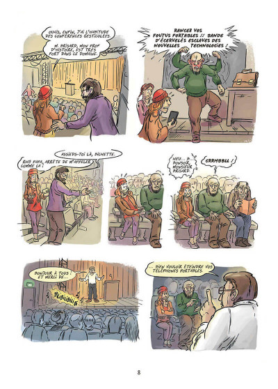 Page 8 Une histoire populaire de la France tome 1