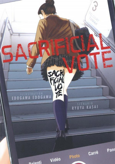 Couverture Sacrificial vote tome 3