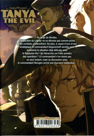 Dos Tanya the evil tome 10