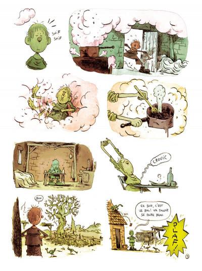 Page 5 L'homme qui courait après sa chance