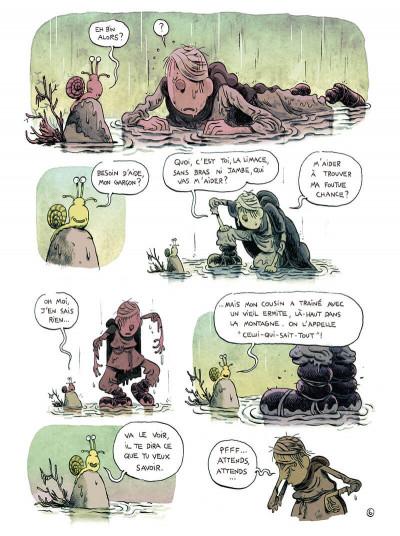 Page 8 L'homme qui courait après sa chance