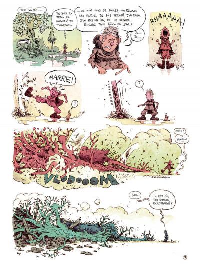 Page 9 L'homme qui courait après sa chance
