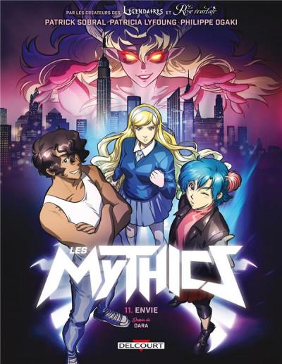 Couverture Les mythics tome 11