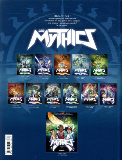 Dos Les mythics tome 11