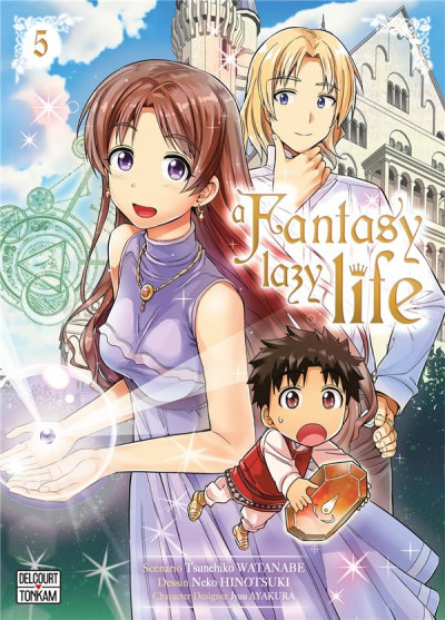Couverture A fantasy lazy life tome 5