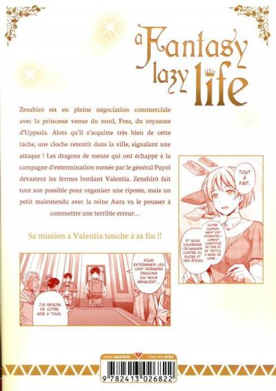Dos A fantasy lazy life tome 7