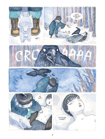 Page 6 Le songe du corbeau