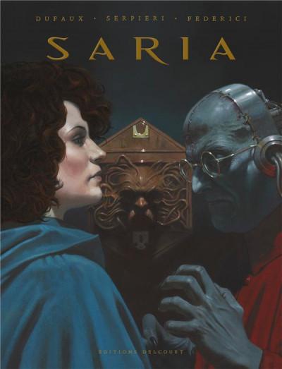 Couverture Saria - intégrale