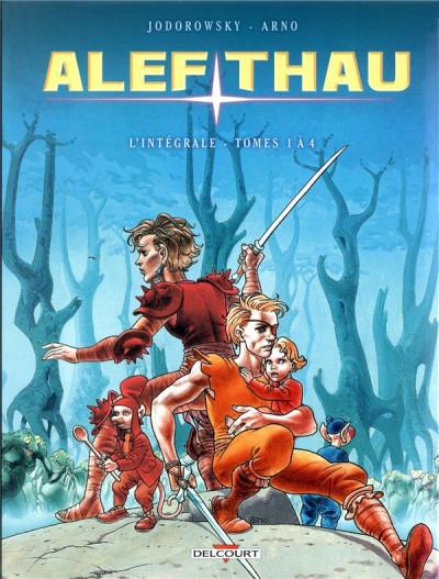 Couverture Alef-thau - intégrale tomes 1 à 4