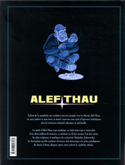 Dos Alef-thau - intégrale tomes 1 à 4