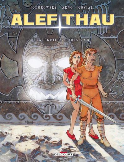 Couverture Alef-thau intégrale tomes 5 à 8