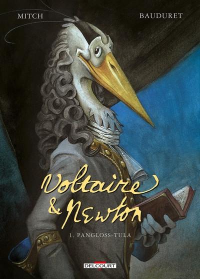 Couverture Voltaire & Newton tome 1 + ex-libris offert