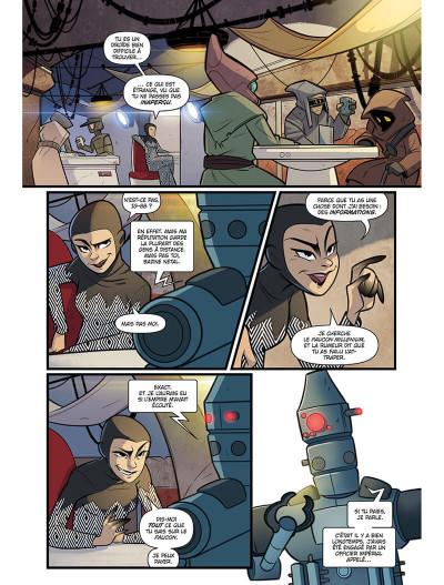 Page 3 Star wars - le vol du faucon millénium