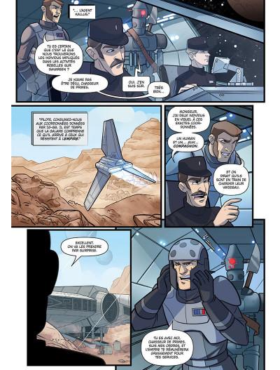 Page 4 Star wars - le vol du faucon millénium