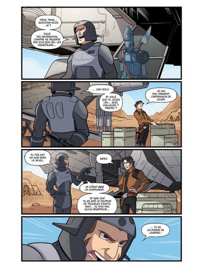 Page 5 Star wars - le vol du faucon millénium