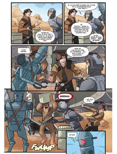 Page 6 Star wars - le vol du faucon millénium