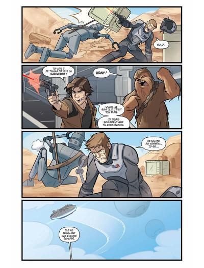 Page 7 Star wars - le vol du faucon millénium