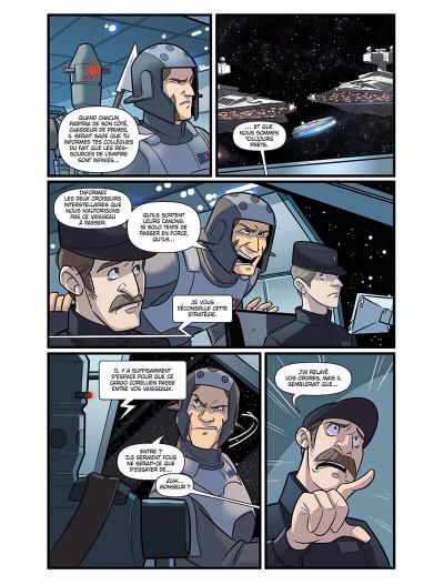Page 8 Star wars - le vol du faucon millénium