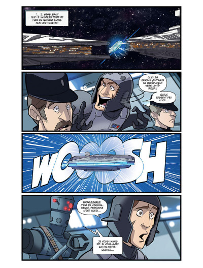 Page 9 Star wars - le vol du faucon millénium