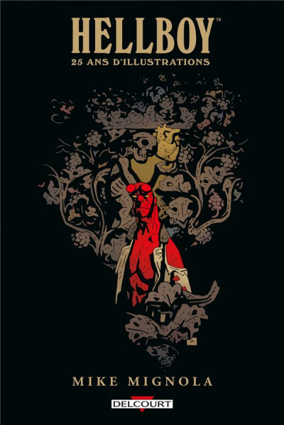 Couverture Hellboy - 25 ans d'illustrations