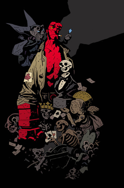 Page 2 Hellboy - 25 ans d'illustrations