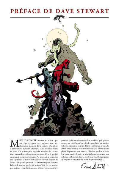 Page 5 Hellboy - 25 ans d'illustrations