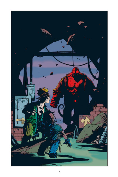 Page 7 Hellboy - 25 ans d'illustrations
