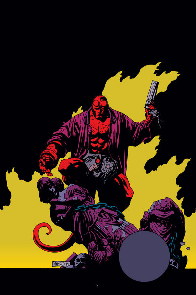 Page 8 Hellboy - 25 ans d'illustrations