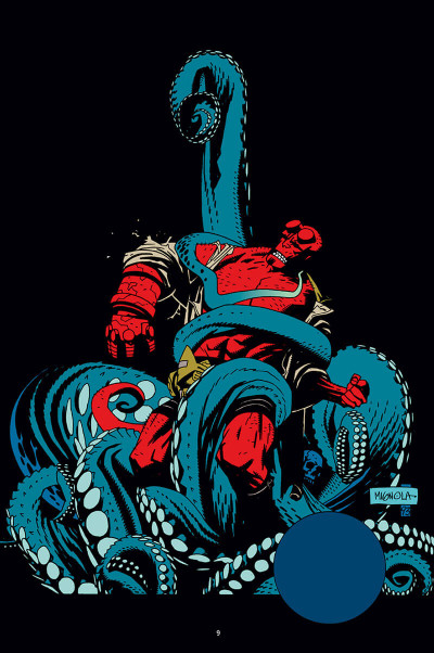 Page 9 Hellboy - 25 ans d'illustrations