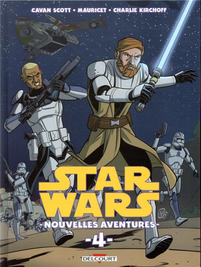 Couverture star wars nouvelles aventures t04