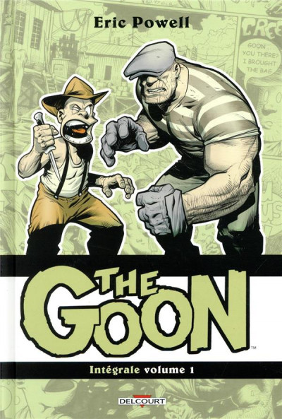 Couverture The goon - intégrale tome 1