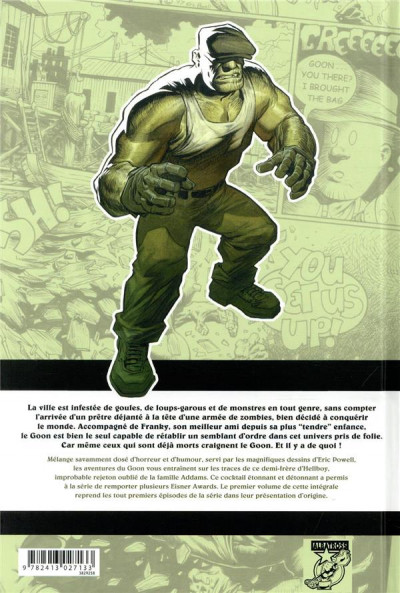 Dos The goon - intégrale tome 1