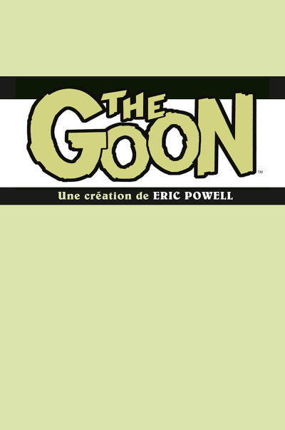 Page 1 The goon - intégrale tome 1