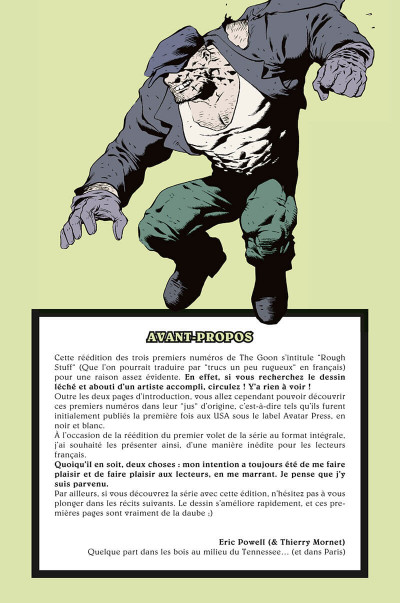 Page 8 The goon - intégrale tome 1