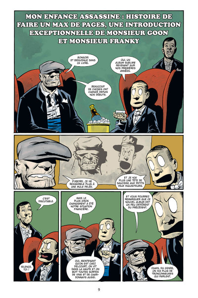 Page 9 The goon - intégrale tome 1
