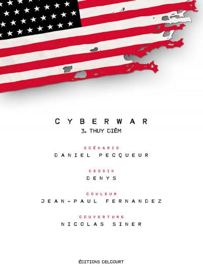 Page 1 Cyberwar tome 3